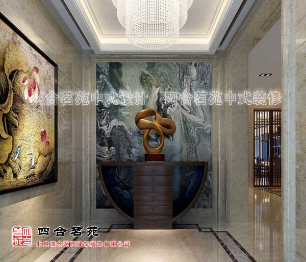四合茗苑供应新中式别墅设计显示出的大家风范