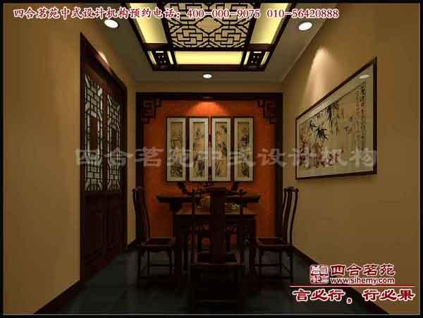 茶楼装修设计,中式茶楼效果图