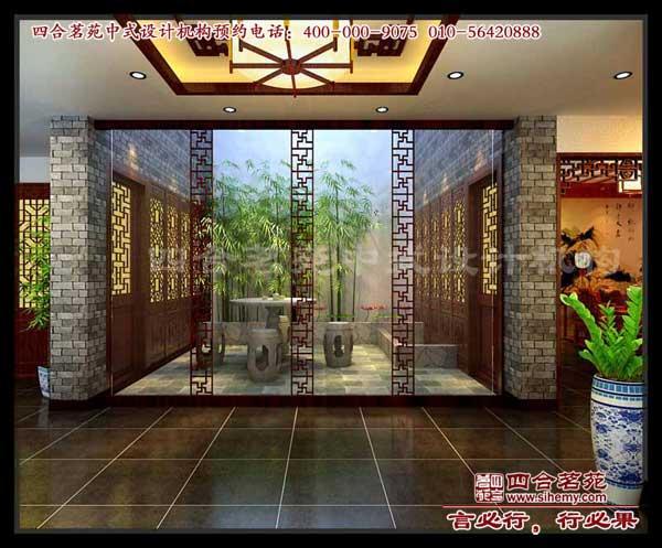 无棣中式别墅装修设计案例展示 三