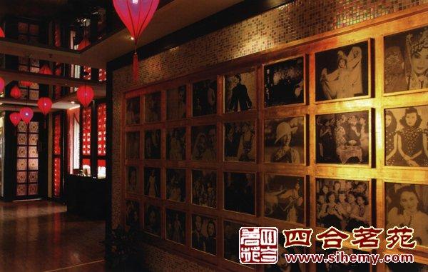 中式会所装修红酒会所装修设计案例效果图图片