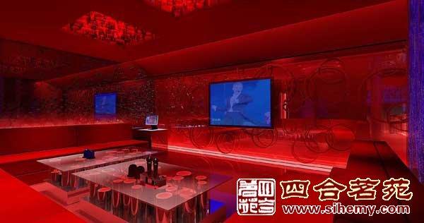 中式展厅设计效果图
