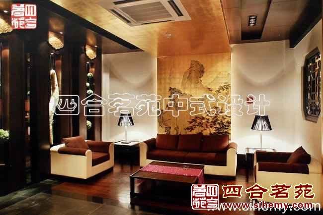 现代中式古典风格饭店装修设计案例