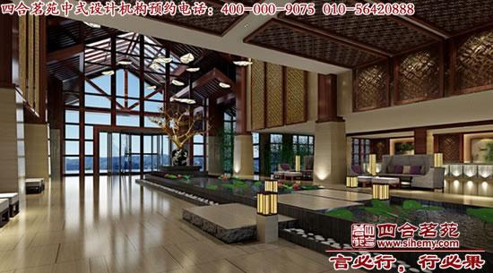 中式酒店设计带你体验中式风格复古情怀图片